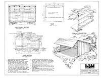 Adirondack Lean To Building Plans